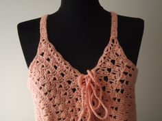 crochet women teens salmon beach clothing summer by nilsmake, $65.00