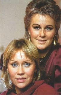 Anna and Frida in 1980.