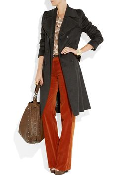 Gucci | Wool trench coat | NET-A-PORTER.COM