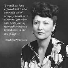"""Elizabeth Wanamaker Peratrovich, a Tlingit Native American, successfully inspired the Alaska Senate to pass the state's Anti-Discrimination Act in which banned blatant discrimination such as """"no natives allowed"""" signs posted in storefronts. Go women! Native American Women, Native American History, Native American Indians, American Art, Women In History, Black History, Little Buddha, Into The West, Tlingit"""