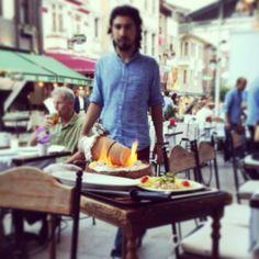 Serving up the Testi (pottery) kebab.so delicious! At Albura Kathisma in Istanbul, Turkey Turkey Travel, Istanbul Turkey, Pottery, Restaurant, Ceramica, Pottery Marks, Diner Restaurant, Ceramic Pottery, Restaurants