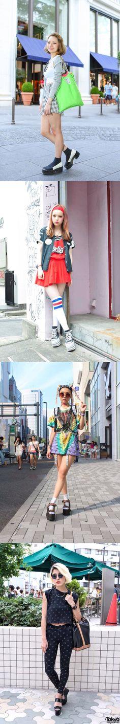 일본의 흔한 스트리트 패션