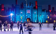 Here is an idea for the #weekend.. How about Ice #Skating at Hampton Court Palace!