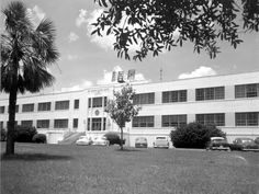This Florida Memory photograph shows the headquarters building at Eglin Air Force Base in Eglin Air Force Base, Air Force Bases, Back In The Day, Coast, Photograph, Florida, Building, Photography, The Florida