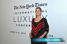 Dasha Zhukova attended The New York Times International Luxury Conference held at the Trianon Palace Versailles on April 5th, 2016 in Versailles, France.