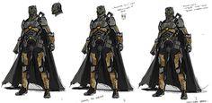 Anti-Batman Wrath Concept Art!