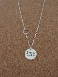 our I Love You More necklace is a best seller and the perfect git for Valentine's Day! #bestseller #beyoujewelry #valentinesdaygift