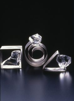 Rings: Praying the Glaciers on the Earth Won't Melt, Kazuko Mitsushima, Osaka, Japan, 1997. Published in New Glass Review 19. (via Rings: Praying the Glaciers on the Earth Won't Melt   | Corning Museum of Glass)