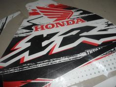 Honda Xr 600 R, XR600R Graphics tank decals!!!excellent quality, competition