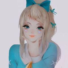 character/commission by milkycult Art Girl, Boy Or Girl, Anime Girl Cute, Aesthetic Anime, Asian Art, Amazing Art, Pony, Digital Art, Manga