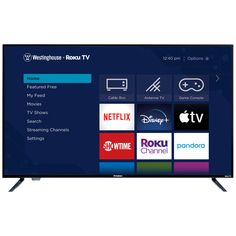 Get this Westinghouse WR50UX4019 50-Inch LED Roku 4K Ultra Smart HDTV for only $229.99 (reg. $349.99) at Best Buy. You save 34% off the retail price for this 4K Ultra Smart HDTV. Plus, this item ships free. This is the lowest price we could find online by about $20. The Westinghouse WR50UX4019 4K Ultra Smart […] The post Westinghouse WR50UX4019 50-Inch LED Roku 4K Ultra Smart HDTV appeared first on Frugal Buzz. Tv Game Console, Cable Box, Tv Built In, Best Home Theater, Smart Home Technology, Tv App, Hd Led, Electronic Recycling
