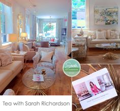 Design Maze: Thank You So Much ~ Tea w/ Sarah Richardson + BlogPodium 2013