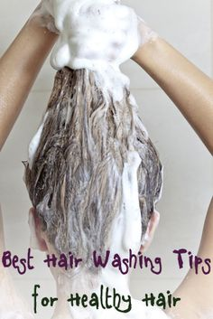 Best Tips for Washing Your Hair. Tips and tricks to keeping your hair as healthy as possible...