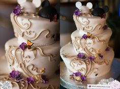 disney's wedding pavilion « Root Photography Fancy Cakes, Cute Cakes, Pink Cakes, Beautiful Cakes, Amazing Cakes, Disney World Wedding, Disney Wedding Cakes, Tangled Wedding, Disney Weddings