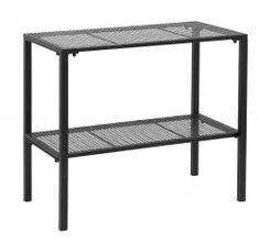 WIRE table, slim, black | Nordal.eu