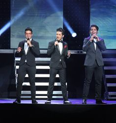 115 pictures ~ Piero Barone, Gianluca Ginoble, and Ignazio Boschetto of Il Volo performs at Radio City Music Hall on September 27, 2013 in New York City.