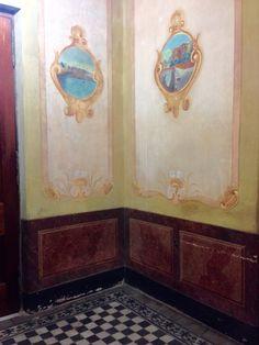 Interior de una casa antigua. Asunción-Paraguay