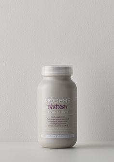 Chitosan   Chitosan combinato con vitamina C e prebiotici. Il chitosano è un polisaccaride. La Vitamina C contribuisce al normale metabolismo energetico.
