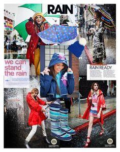 """RAIN RAIN GO AWAY"" by e-mina-87 ❤ liked on Polyvore featuring moda, 143 Girl, Totes e Eugenia Kim"