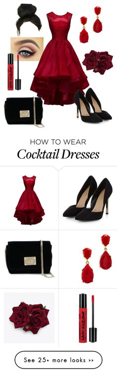 """Prom..."" by tweetfam on Polyvore featuring Kenneth Jay Lane and Jimmy Choo"