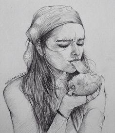 """""""Lucy la chica del mango"""" :) 06.17.2016"""