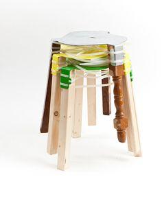 bender stool by Paul Evermann