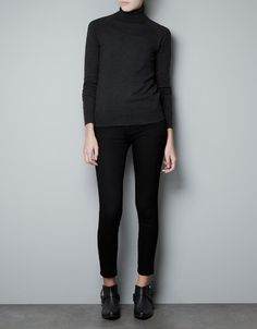 PULL COL CIGNE - Maille - Femme - Nouvelle collection - ZARA