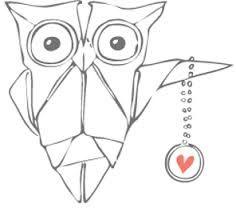 Výsledek obrázku pro origami owl