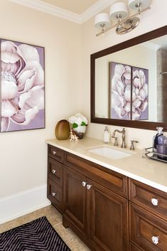 Need to freshen up your Tuscan bathroom? Here are five tips with a before and after. Hint: It's always about adding white or cream.