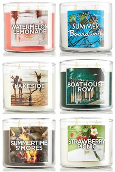 New Bath Body Works Summer 2013 Candles