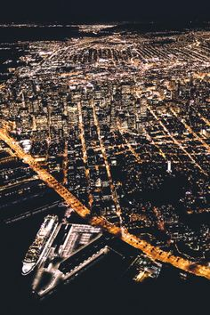 San Francisco by Adrian Sky - California Feelings San Francisco Girls, San Francisco California, Night City, City Photo, Beautiful Places, Scenery, Around The Worlds, Adventure, Travel