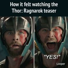 You are watching the movie Thor: Ragnarok on Putlocker HD. Thor is on the other side of the universe and finds himself in a race against time to get back to Asgard to stop Ragnarok, the prophecy of destruction to his Marvel Comics, Marvel Heroes, Marvel Avengers, Avengers Cast, Marvel Jokes, Avengers Memes, Loki, Marvel Cinematic Universe, Dc Universe
