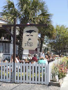 Poe's Tavern on Sullivan's Island South Carolina Homes, Charleston South Carolina, Charleston Sc, Sullivans Island South Carolina, Sullivans Island Sc, Johns Island, Oak Island, Vacation Wishes, Vacation Spots