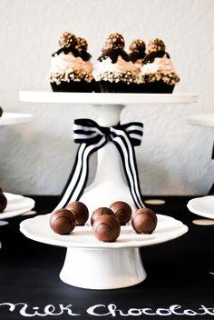 Godiva Truffle Flight   Truffle Tasting Party Inspiration   TheCakeBlog.com