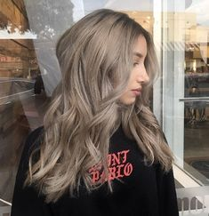 40 Ash blonde Hairstyles You're Going To See Everywhere Medium ash brown by Anthony Vincent Blond Ash, Ash Blonde Balayage, Light Ash Blonde, Brown Hair With Blonde Highlights, Hair Highlights, Medium Ash Blonde Hair, Light Ash Brown Hair, Brown Hair Shades, Brown Hair Colors