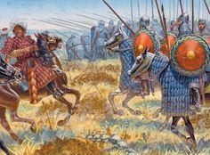 La Pintura y la Guerra Byzantine Heavy Cavalry