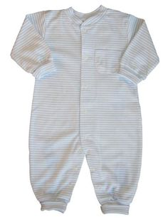 Kissy Kissy Playsuit Simple Stripes  Blue  blue size 18 months ** Visit the image link more details. Note:It is affiliate link to Amazon.