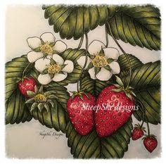 Strawberry Season by Andrea@SheepSki Designs - SheepSki Designs: SheepSkiDesigns