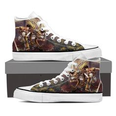 Converse Unisex - Eren And Levi Attack On Titan Shoes