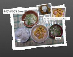 For Dinner on 23/May/2012