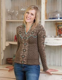 I love this. Aesa Pullover Pattern : only at Knitpicks.com