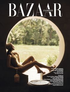 as Head Stylist Assistant - Harper's Bazaar Opening Fashion, shot by Kay Moreno Photography
