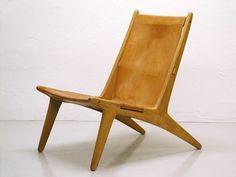 Hunting Chair by Uno & Östen Kristiansson, 1954