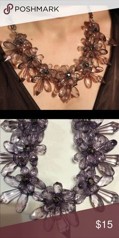 New Grey Quality Crystal Statement Necklace Brand new Statement Choker Necklace dallas Stylez Jewelry Necklaces