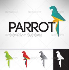 Parrot Logo Template - Animals Logo Templates