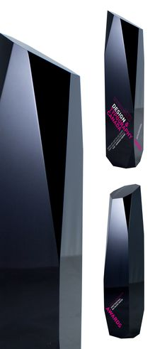 odyssey - our new custom black acrylic awards. Made by hand, every cut is unique. These custom acrylic awards are creative, dynamic and elegant.
