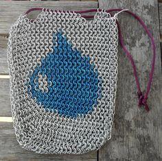 Audrius - Blue Mana Deck Bag. $80.00, via Etsy.