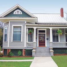 Upgrading your house's exterior doesn't have to mean a soup-to-nuts remodel. Check out 8 Smart Budget Curb Appeal Makeovers on our homepage for some clever,thrifty ideas!  #curbappeal #budgetupgrades #thrifty #exterior #upgrades  #ThisOldHouse #TOH