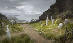 Cemetary Path by ClintCearley.deviantart.com on @DeviantArt