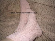 Wishbone Knitted Sock Pattern in PDF - Easy Experienced Beginner Knitting by SusieRoseDesigns, $5.00 USD